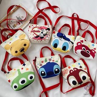Túi đeo chéo in hoạt hình dễ thương dành cho trẻ em