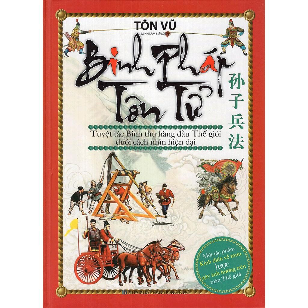 Sách - Binh pháp Tôn Tử - Tuyệt tác binh thư hàng đầu thế giới dưới cách nhìn hiện đại