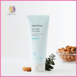 Sữa Rửa Mặt Trị Mụn Innisfree Bija Trouble Facial Foam 150ml