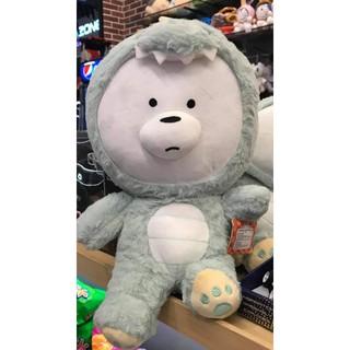 Gấu Bông We bare bear cosplay khủng long | Size 45cm