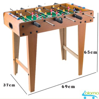 Đồ chơi bàn bi lắc bóng đá Table Top Football TTF-69 bằng gỗ 70x40cm 6 tay cầm- Đồ chơi giải trí cho bé thumbnail