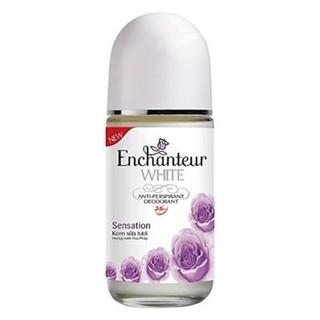 Lăn khử mùi trắng da Enchanteur Whitening Sensation tím 50ml