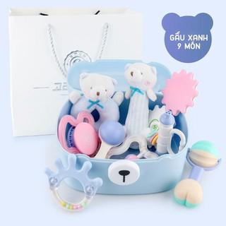 [Mã TOYFSSMAY giảm 10K đơn 50K] Set đồ chơi sơ sinh Goryeo Baby 9 món cho bé 0-18 tháng