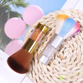 Multifunction Nail Dust Brush Blush Base Powder Brushes Color Makeup Brush
