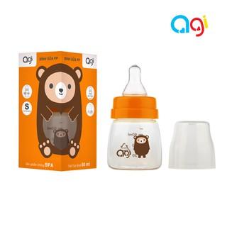 Bình Sữa Agi Premium và PP [60ml 140ml 250ml]