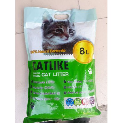 (Bỏ sỉ) Cát mèo Catlike - Vón cục + khử mùi hoàn hảo (4kg - 8 lít)
