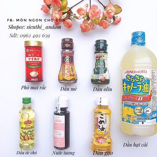 Set Dầu Ăn Dầu Xào Nấu Nước Tương Nhật Bản Cho Bé Từ 6 Tháng