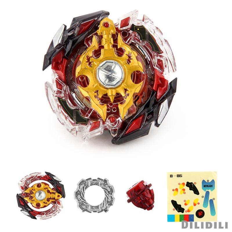 [12] Rapidity Fight 4D Burst Spinning Top LEGEND SPRIGGAN.7.Mr B-86 Starter Children Character Toys