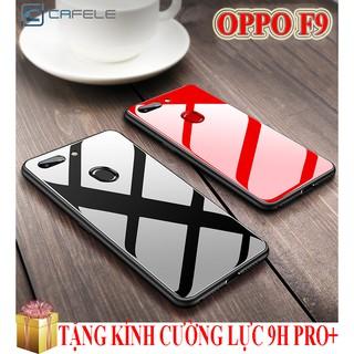 Ốp lưng Oppo F9 gương kính cao cấp