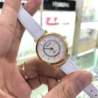Đồng hồ nữ Neos 40743ALT dây da full hộp thẻ chính hãng, kính sapphire chống xước ch thumbnail