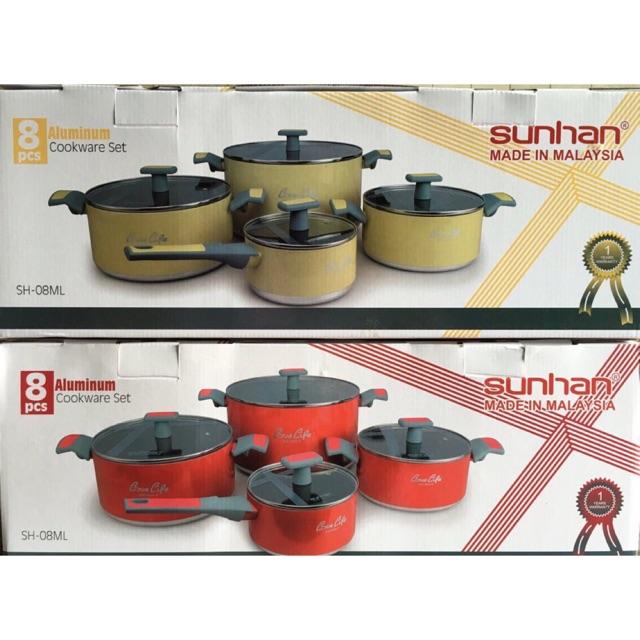 Bộ 4 nồi Sunhan từ chống dính SH 08ML - 2472487 , 405924563 , 322_405924563 , 1290000 , Bo-4-noi-Sunhan-tu-chong-dinh-SH-08ML-322_405924563 , shopee.vn , Bộ 4 nồi Sunhan từ chống dính SH 08ML