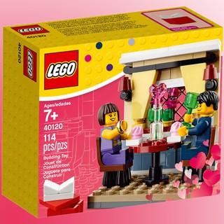 Đồ Chơi Xếp Hình LEGO 40120 Bữa Ăn Tối Lễ Tình Nhân