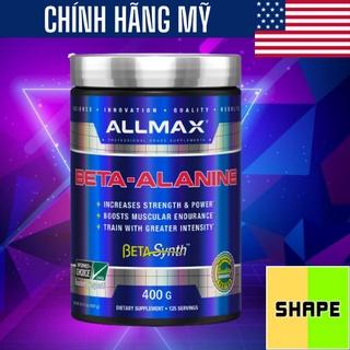 BETA ALANINE Allmax Beta Alanine [400g] - Bổ Sung Phát Triển Cơ Bắp - Chính Hãng The Shape thumbnail