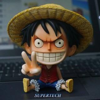 Mô Hình One Piece Luffy Mũ Rơm Cực Cute
