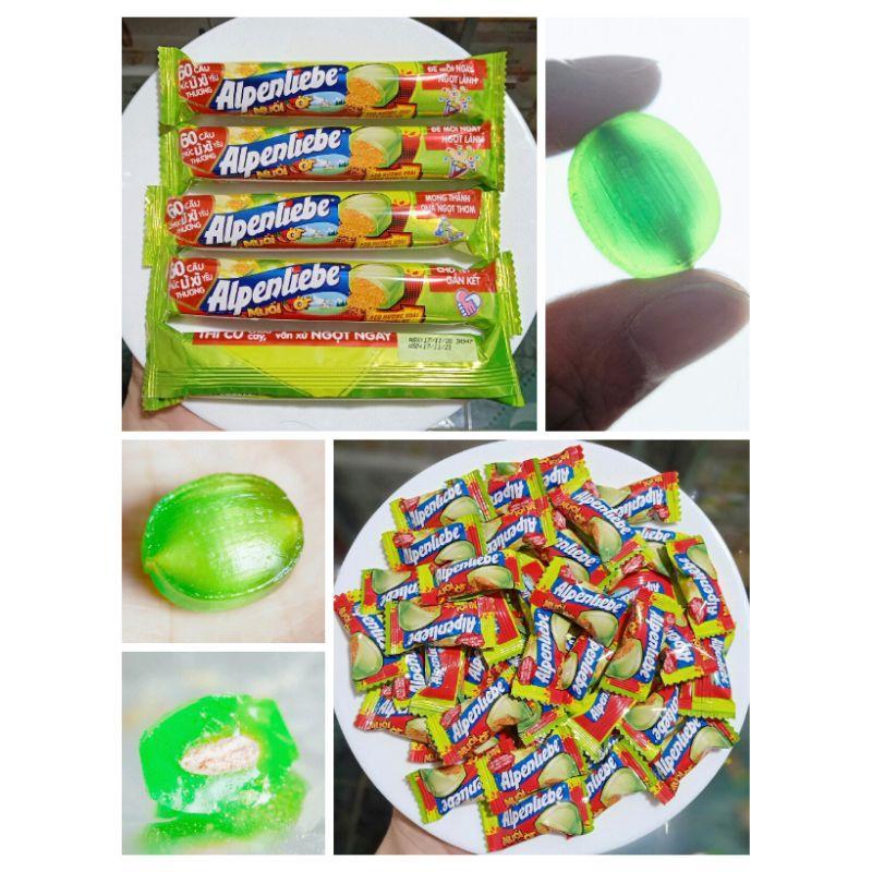 [RẺ NHẤT SHOPEE] 1 Thỏi Kẹo xoài non muối ớt Alpenliebe (9 viên) hoặc 10 viên Kẹo xoài non muối ớt Alpenliebe