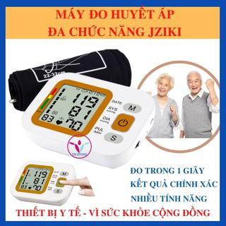[Hàng chính hãng] Máy đo huyết áp – Máy đo huyết áp đa chức năng JZIKI