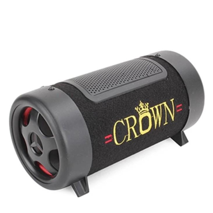 Loa Crown 4 đế phát nhạc qua USB, thẻ nhớ giá rẻ - BH 6 tháng