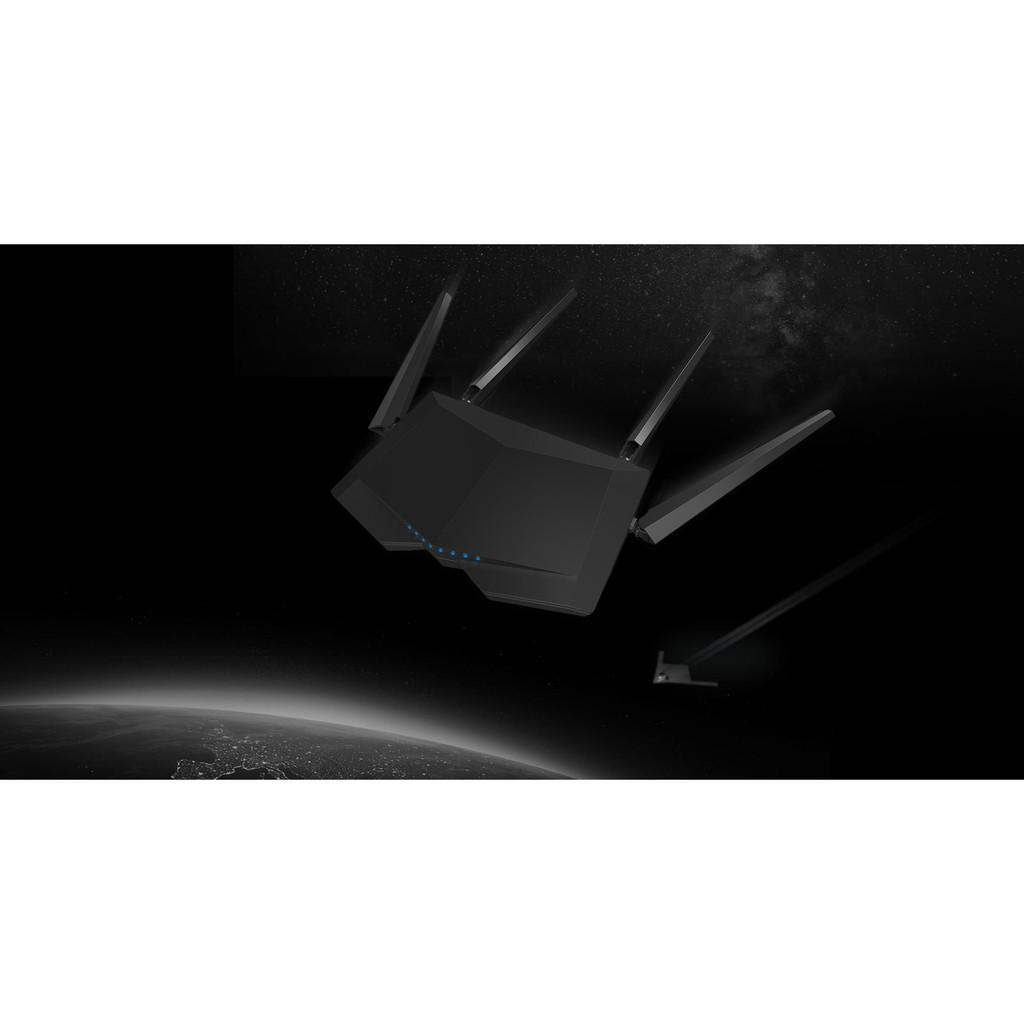 [Mã 267ELSALE hoàn 7% đơn 300K] Bộ phát WiFi băng tần kép Tenda AC6 Router 2 băng tần AC1200