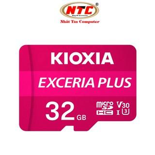 [Mã ELFLASH5 giảm 20K đơn 50K] Thẻ nhớ MicroSDHC Kioxia Exceria Plus 32GB U3 4K V30 A1 R98MB/s W65MB/s (Tím)