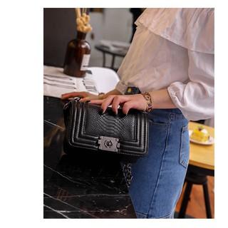 Túi xách nữ đeo chéo CL Boy da trăn siêu đẹp TX06 túi đeo chéo
