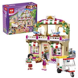 Giá Siêu Sốc – Đồ chơi Lego girls club 01011 – cửa hàng pizza hồ trái tim