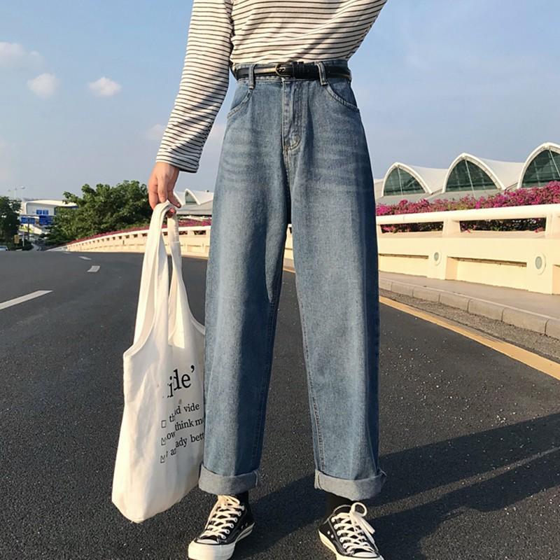 quần ống rộng ulzzang order quần bò jean rộng dáng hàn quốc KÈM ẢNH THẬT