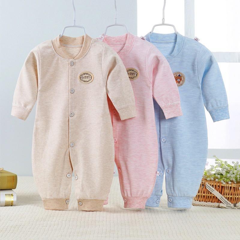 Body dài tay liền thân, bodysuit dài tay cotton cho bé trai và bé gái sơ sinh từ 3-14kg, hàng đẹp xuất nhật