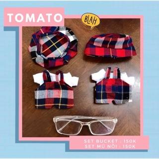 Set outfit cho doll 15cm và 20cm