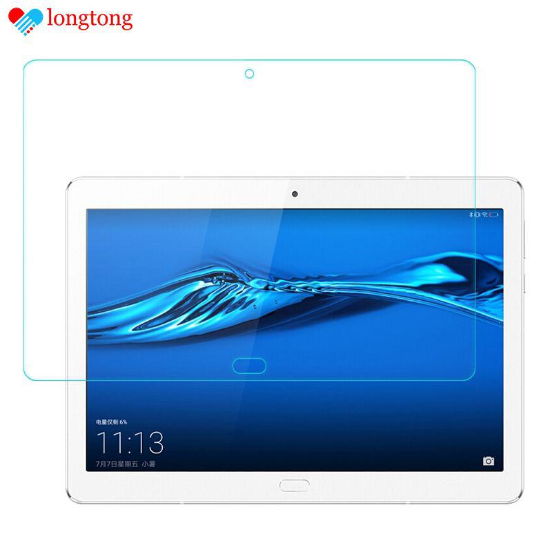 "Ultra-thin Screen Protector for 10"" Huawei M3 Mediapad Tempered Glass Film LONGTONG"