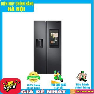RS64T5F01B4/SV Tủ lạnh Family Hub Samsung Inverter 616 lít Mới 2020