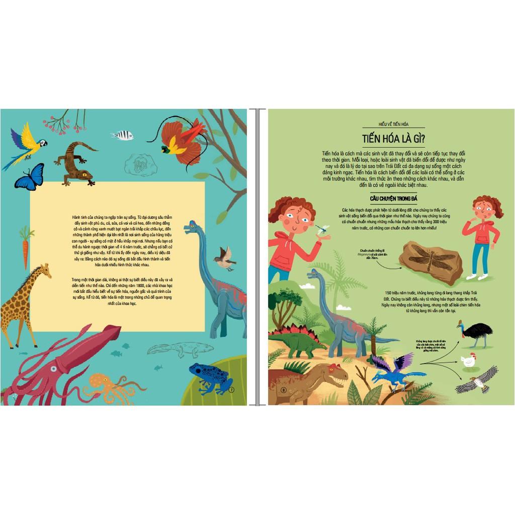 Sách - Hành Trình Của Sự Sống - Amazing Evolution (Bìa cứng)