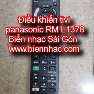 Điều khiển tivi panasonic RM L1378