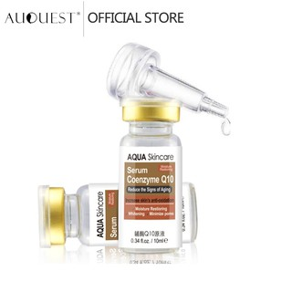 AUQUEST Face Serum Coenzyme Q10 Whitening Anti Aging Anti Wrinkle essence Pore Minimizer Skincare Beauty thumbnail