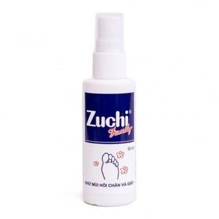 (50ml) Xịt khử mùi hôi chân và giày Zuchi Family. thumbnail