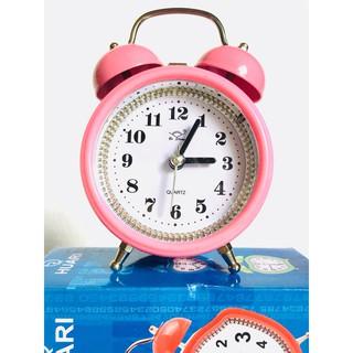 Đồng hồ báo thức để bàn 3307 (hồng đậm )