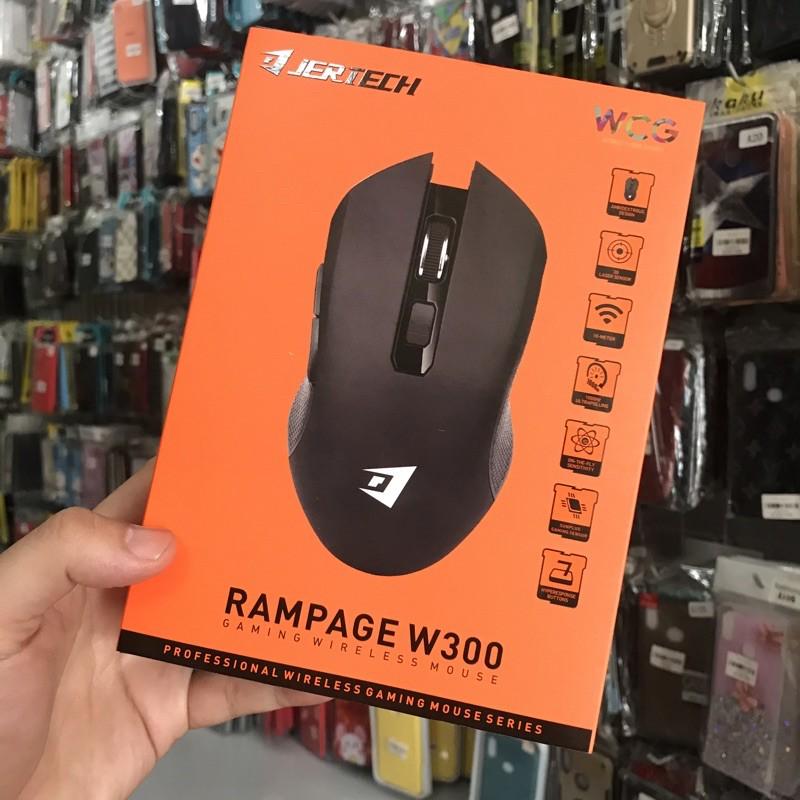 Chuột Không Dây Jertech Rampage W300 Chuyên Game