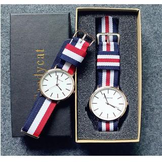 Đồng hồ nam nữ dây dù trẻ trung DH65