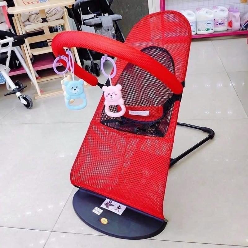 ghế nhún cho bé đa năng bập bênh – có đồ chơi