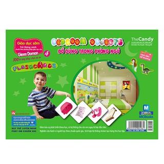 Flashcard - Dạy Trẻ Theo Phương Pháp Glenn Doman - Đồ Dùng Trong Phòng Ngủ
