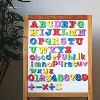 WX_Alphabet Magnetic Letter Number Fridge Magnets Stickers Baby Kids Education Toys