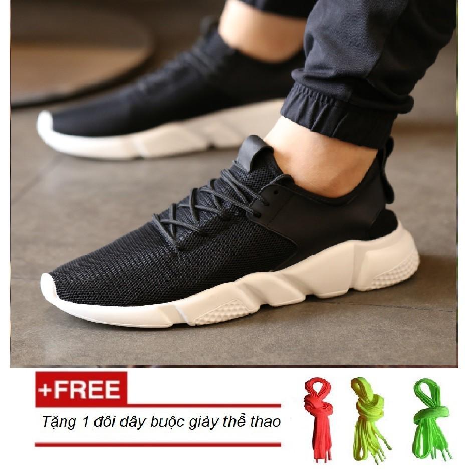 Giày thời trang sneakers nam mẫu mới MS5 - đen trắng + Tặng kèm 1 đôi dây buộc giày thể thao (ngẫu n - 10016764 , 988946111 , 322_988946111 , 140000 , Giay-thoi-trang-sneakers-nam-mau-moi-MS5-den-trang-Tang-kem-1-doi-day-buoc-giay-the-thao-ngau-n-322_988946111 , shopee.vn , Giày thời trang sneakers nam mẫu mới MS5 - đen trắng + Tặng kèm 1 đôi dây buộc