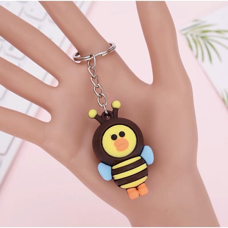 Móc khoá chú ong xinh xắn