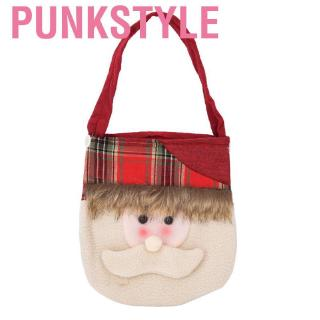 Punkstyle Lovely Portable Christmas Santa Claus Gift Bag Ornament Xmas Party Home Decoration