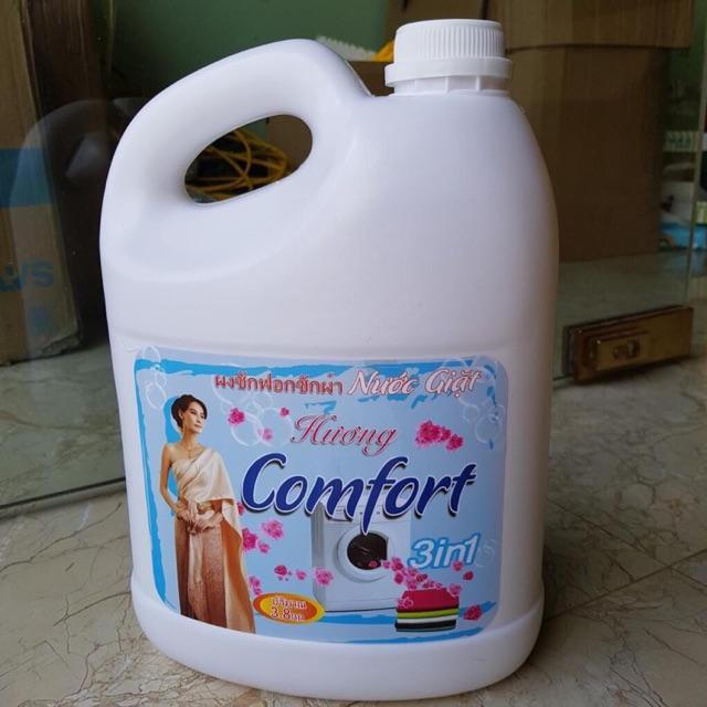 Can nước giăt 3,8l hương comfro
