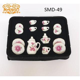 Đồ sứ cho nhà búp bê, dollhouse, DIY mã từ SMD-49, SMD-50, SMD-51