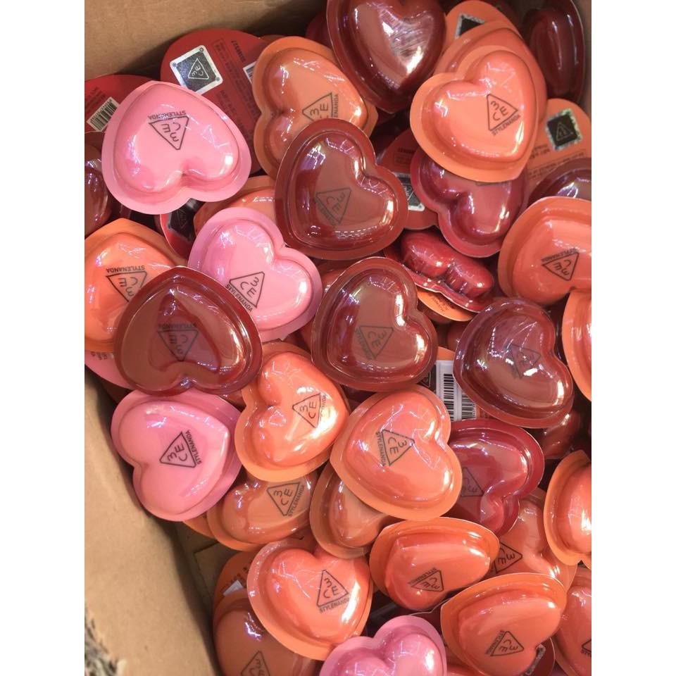 (Mã COSNEW giảm 10% ) Son trái tim 3CE Heart Pot Lip - 3190799 , 794693477 , 322_794693477 , 175000 , Ma-COSNEW-giam-10Phan-Tram-Son-trai-tim-3CE-Heart-Pot-Lip-322_794693477 , shopee.vn , (Mã COSNEW giảm 10% ) Son trái tim 3CE Heart Pot Lip