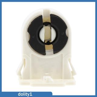 [DOLITY1] Plastic Fluorescent Light Socket Bulb Holder for T8 LED Bracket Lamp AC 100-250V