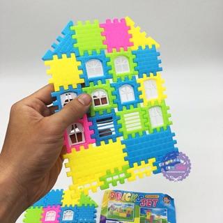 Đồ chơi xếp hình ngôi nhà 3D