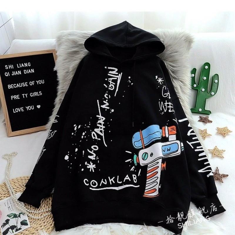 Áo khoác nỉ hoodie tên lửa