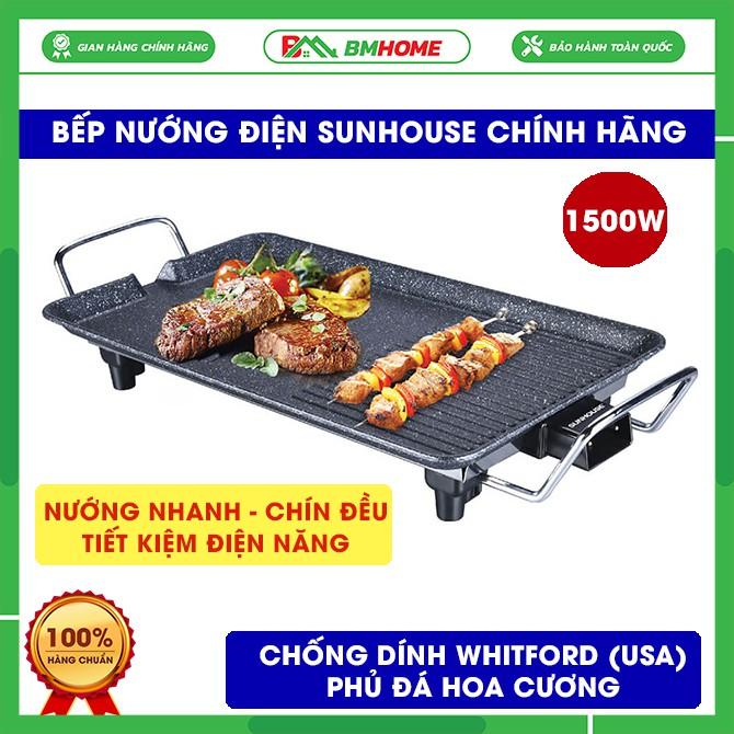 Bếp nướng điện Sunhouse SHD4607 tốc độ nướng nhanh, an toàn cho sức khỏe và tiết kiệm điện năng - Bảo hành 12 tháng